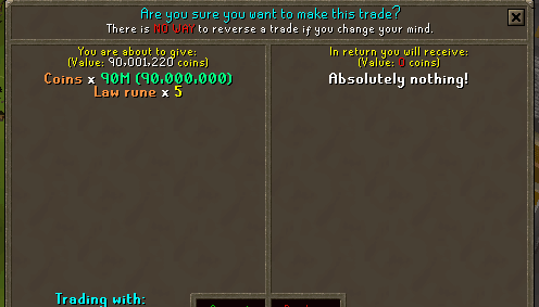 osrs sell gold
