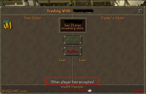how do we make runescape gold trade in game and some policy you
